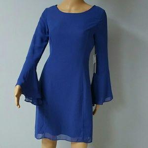Jennifer Lopez royal blue dress. Size 2
